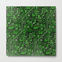 Short Circuits Metal Print