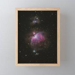 Cosmic Galaxy Framed Mini Art Print