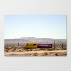 Last Stop Canvas Print