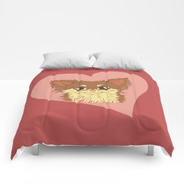 Chihuahua Love Comforters