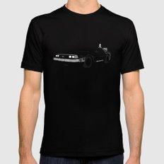 DeLorean DMC-12 Black MEDIUM Mens Fitted Tee