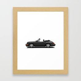 Convertible Car Framed Art Print