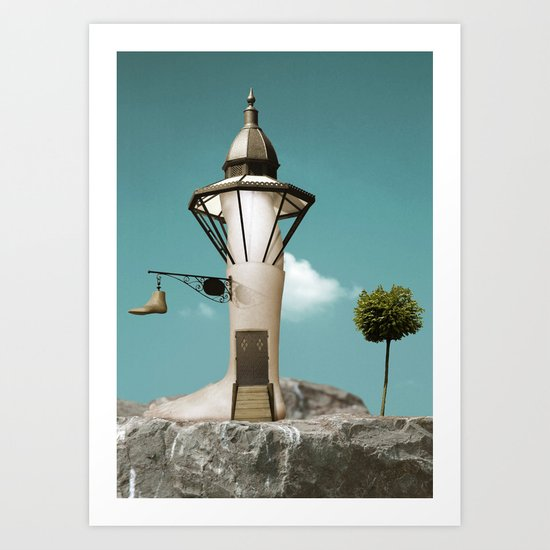 LegLand Art Print