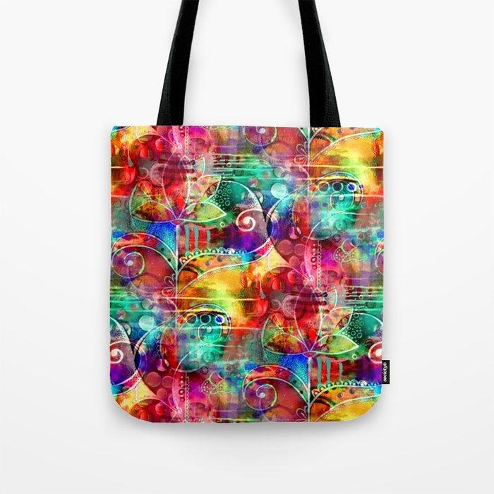 Flowers In My Soul Tote Bag