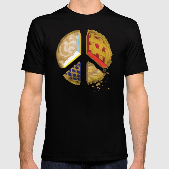 Pie of peace T-shirt