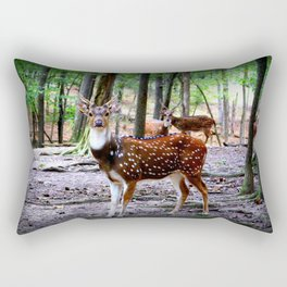 Axis Deer Rectangular Pillow