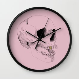Gold Tooth Wall Clock