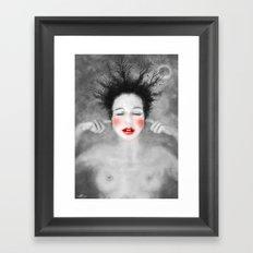 The noise of the world Framed Art Print