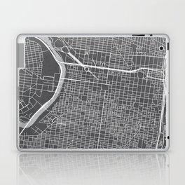 Center City Philadelphia Map Laptop & iPad Skin