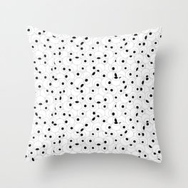 Eyeball Frenzy Throw Pillow