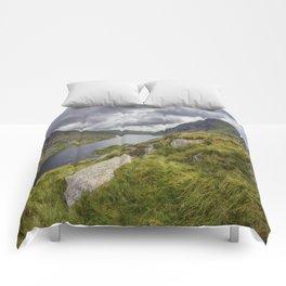 Tryfan and Lake Ogwen Comforters