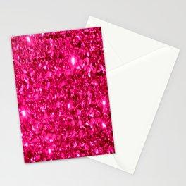 SparklE Hot Pink Stationery Cards