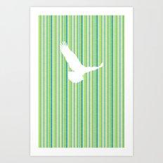 Eagle Has Landed Art Print