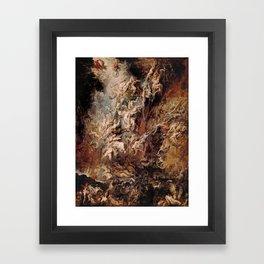 Peter Paul Rubens's The Fall of the Damned Framed Art Print