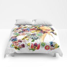 Flower Girl Two Comforters