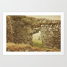 Clonmacnoise Castle Art Print