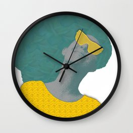 Everything is Golden Wall Clock