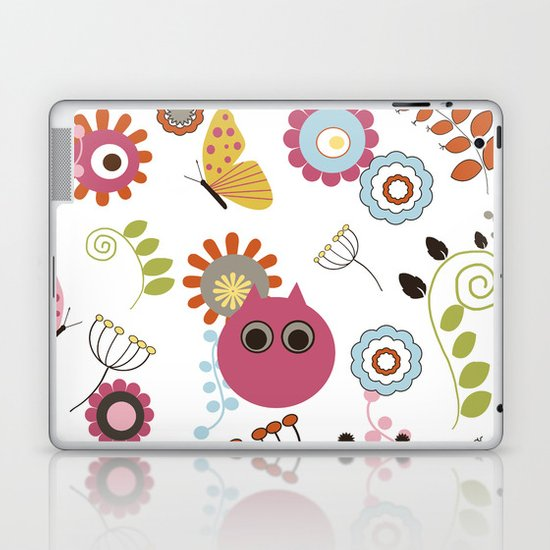 Owl in Pandora Laptop & iPad Skin
