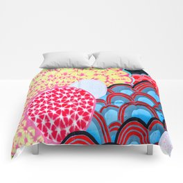 Flower  abstract 1 Comforters