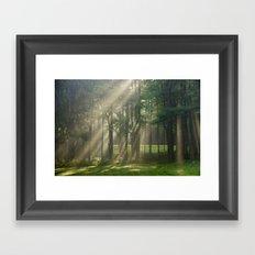 Heavenly Sunrise Framed Art Print
