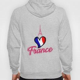 i love france tshirt - Eiffel Tower - Gift idea Hoody