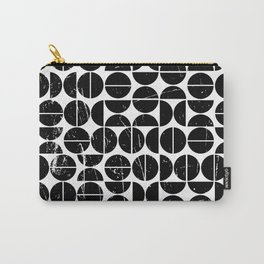 Half Moon Pattern | 70s Style | Fun | Happy Art Carry-All Pouch