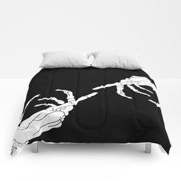 Until Death Do Us Part - Skeleton Hands Comforters