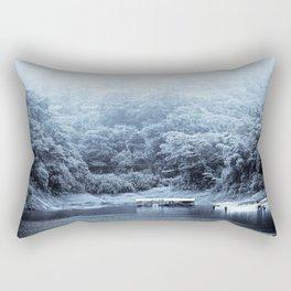 Tico Boats Rectangular Pillow