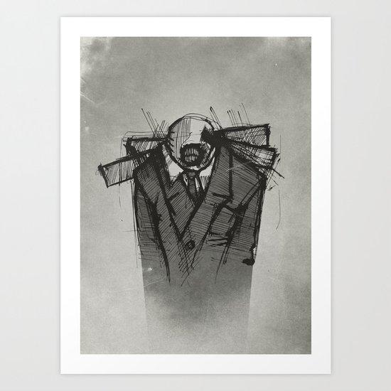 Wraith I. Art Print