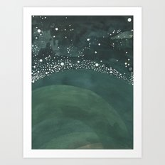 Galaxy No. 3 Art Print