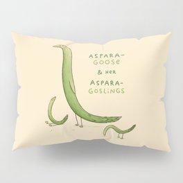 Asparagoose & Her Asparagoslings Pillow Sham