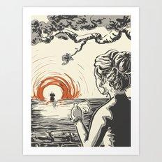 Once, I Hated the Sun Art Print