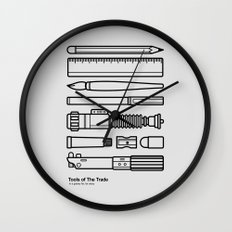 Tools of The Trade Wall Clock