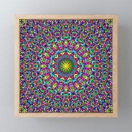 Bohemian Mandala Ornament Framed Mini Art Print