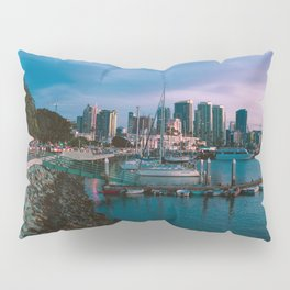 Moody sunset by Downtown San Diego Pillow Sham