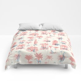 Where they Belong - Pastel Colors Comforters