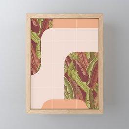 Mid-Century Tropical Style #society6 #tropical Framed Mini Art Print