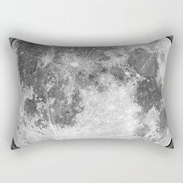 1901 Lunar Expedition Poster Rectangular Pillow