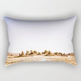 Mystery Planet - Trona Pinnacles Tufa Spires Rectangular Pillow