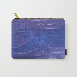 Blue purple abstract Carry-All Pouch