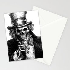 Uncle Sam Stationery Cards