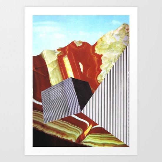 Geometrafuge Art Print