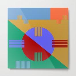Abstract #57 Metal Print