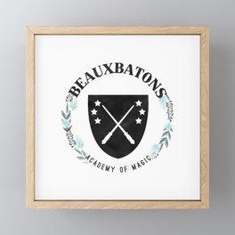 Beauxbatons Academy of Magic Framed Mini Art Print