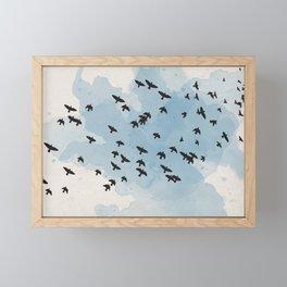 Summer Birds Framed Mini Art Print