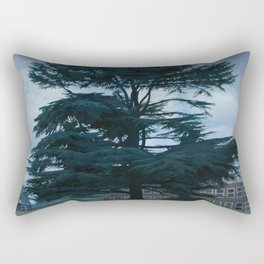Trees of Trent Park #1 Rectangular Pillow