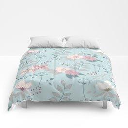Flower Mix Shabby Chic Comforters