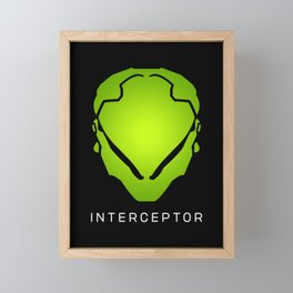 Interceptor Avatar Framed Mini Art Print