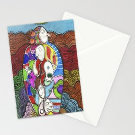 herencia  (inheritance) Stationery Cards