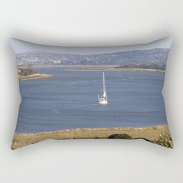 In too Port Launceston - Tasmania - Aus Rectangular Pillow